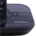 Telefone Sem Fio Motorola Dect Gate 4000 com Identificador de Chamadas Preto
