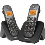 Ficha técnica e caractérísticas do produto Telefone Sem Fio Ts5122 + Ramal Preto Intelbras