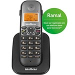Ficha técnica e caractérísticas do produto Telefone Sem Fio Ts5121 Ramal Preto Intelbras