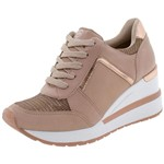 Ficha técnica e caractérísticas do produto Tênis Feminino Sneaker Via Marte - 193353 ROSA