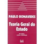 Ficha técnica e caractérísticas do produto Teoria Geral do Estado - 10ª Ed. 2015