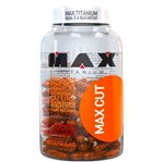 Ficha técnica e caractérísticas do produto Termogênico MAX CUT 60 Cápsulas - Max Titanium