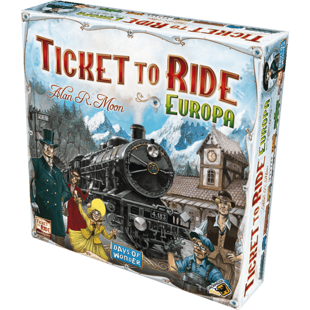 Ficha técnica e caractérísticas do produto Ticket To Ride - Europa