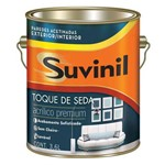 Ficha técnica e caractérísticas do produto Tinta Acrilica Acetinado Toque de Seda Premium Branco 3,6lt - Suvinil