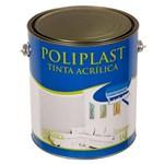 Ficha técnica e caractérísticas do produto Tinta Acrílica Fosco Econômica Poliplast Marfim 3,6L Universo Tintas