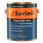 Ficha técnica e caractérísticas do produto Tinta Acrilica Premium Acetinada Toque de Seda 3,6L Branca Suvinil