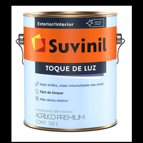 Ficha técnica e caractérísticas do produto Tinta Acrílica Semibrilho Branco Premium Suvinil 3,6l