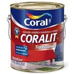 Ficha técnica e caractérísticas do produto Tinta Coral Esmalte Coralit, Acetinado, Branco, Galão 3,6 Litros