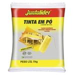 Ficha técnica e caractérísticas do produto Tinta em Pó Juntalider 5kg Amarelo