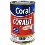 Ficha técnica e caractérísticas do produto Tinta Esmalte Sintético Acetinado Branco Coralit 0,9 Lt - Coral