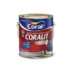 Tinta Esmalte Sintético Premium Brilhante Coralit Tradicional Vermelho Goya 3,6 Litros