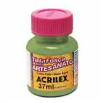 Tinta Fosca para Artesanato Acrilex 37 Ml Verde Oliva 545