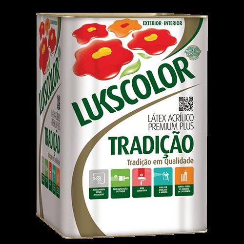 Ficha técnica e caractérísticas do produto Tinta Látex Fosco Branco Premium Lukscolor 18l