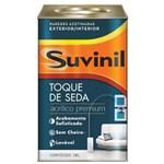 Ficha técnica e caractérísticas do produto Tinta Látex Toque de Seda Suvinil 18 Litros Branco Neve