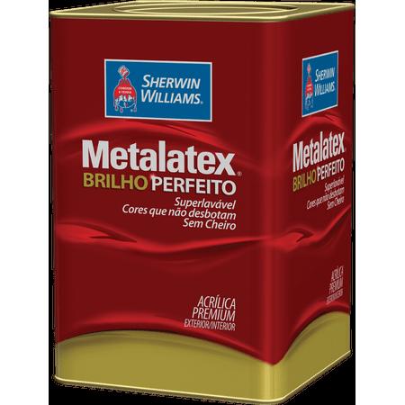 Tinta Metalatex Acrílico Brilho Perfeito Branco