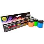 Ficha técnica e caractérísticas do produto Tinta Nature Colors Neon - 6 Cores