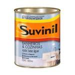 Ficha técnica e caractérísticas do produto Tinta para Banheiro e Cozinha Epóxi Base Água 900ml Branco Suvinil Suvinil