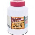Ficha técnica e caractérísticas do produto Tinta para Pva 500 Ml Fosca 519 Branca Acrilex