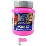 Ficha técnica e caractérísticas do produto Tinta para Tecido Fosca 250ml Acrilex - Rosa