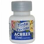 Ficha técnica e caractérísticas do produto Tinta para Tecido Fosca 37ml 519 Branca / 12un / Acrilex