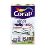 Ficha técnica e caractérísticas do produto Tinta Rende Muito Acrílico Branco 18L Coral