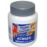 Tinta Tecido Acrilex Branco 250ml