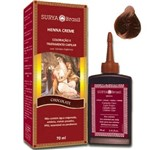 Ficha técnica e caractérísticas do produto Tintura Henna Surya Creme Chocolate 70ml