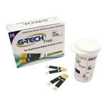 Tiras Reagentes P/ Medição de Glicose (Caixa 50 Unid) - G-Tech Free