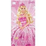 Toalha Aveludada Barbie a Princesa e a Pop Star - Lepper