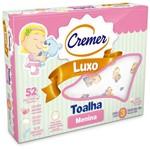 Ficha técnica e caractérísticas do produto Toalha Cremer Luxo Estampada Feminino com 3 Unidades