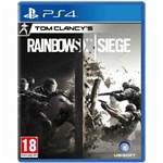 Ficha técnica e caractérísticas do produto Tom Clancy's Rainbow Six: Siege Ps4