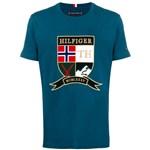 Ficha técnica e caractérísticas do produto Tommy Hilfiger Camiseta com Logo - Azul