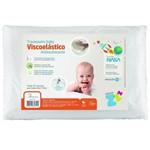 Ficha técnica e caractérísticas do produto Travesseiro Anti-sufocante Silicomfort Baby - Fibrasca