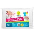 Ficha técnica e caractérísticas do produto Travesseiro Anti Sufocante Visco Toque de Rosas