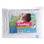 Ficha técnica e caractérísticas do produto Travesseiro Anti Sufocante Viscoelástico Nasa - Baby 30x40 Cm
