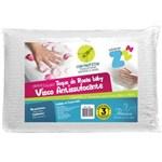 Ficha técnica e caractérísticas do produto Travesseiro Antissufocante Rosas Baby 30x40cm - Fibrasca