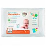 Travesseiro Antisufocante Infantil Visco - Fibrasca