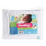 Travesseiro Antisufocante Viscoelastico Baby Nasa 30x40cm Z4791