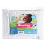 Ficha técnica e caractérísticas do produto Travesseiro Antisufocante Viscoelastico Baby Nasa 30x40cm Z4791