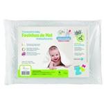 Travesseiro Favinhos Baby Antissufocante Lavável 30x40 Fibrasca - Z4941