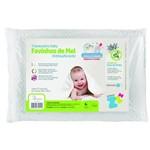 Ficha técnica e caractérísticas do produto Travesseiro Favinhos de Mel Bebê Antissufocante Fibrasca