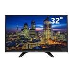 """Ficha técnica e caractérísticas do produto TV LED 32"""" HD Panasonic TC-32D400B com Conversor Digital Integrado, Media Player, Entradas HDMI e Entrada USB"""