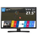 "Ficha técnica e caractérísticas do produto TV Monitor Smart LED 27,5"" HD LG 28MT49S-PS com Wi-Fi, WebOS, Conversor Digital Integrado, Screen Share, Cinema Mode, HDMI e USB"