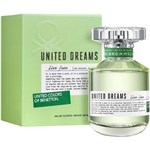 Ficha técnica e caractérísticas do produto United Dreams Live Free By Benetton Feminino Eau de Toilette 80 Ml