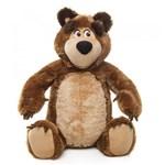 Ficha técnica e caractérísticas do produto Urso de Pelúcia Masha e o Urso Estrela