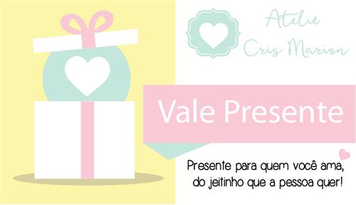 Ficha técnica e caractérísticas do produto Vale Presente (50,00)