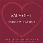 Ficha técnica e caractérísticas do produto Vale Presente - R$100