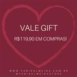 Ficha técnica e caractérísticas do produto Vale Presente - R$119,90
