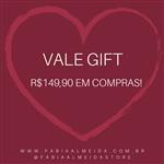 Ficha técnica e caractérísticas do produto Vale Presente - R$149,90