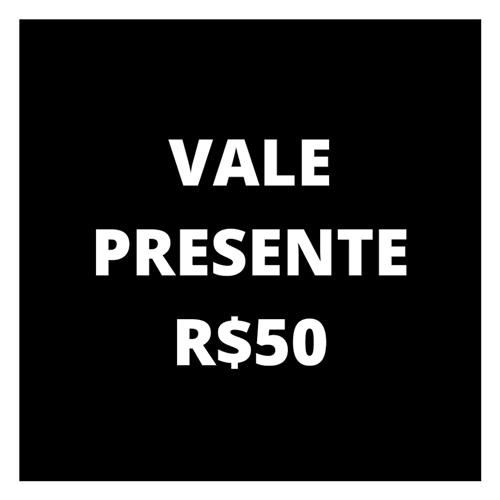Ficha técnica e caractérísticas do produto Vale Presente R$50